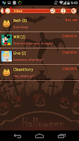 Screenshot of Handcent 6 (Halloween 2013)