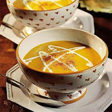Curried Butternut-Shrimp Bisque
