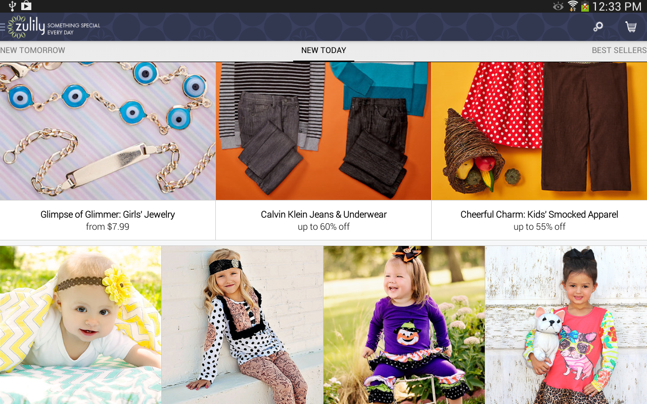 zulily Screenshot 4