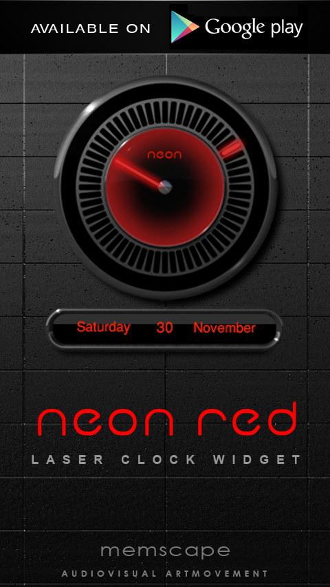Next Launcher Theme Neon Red Screenshot 5