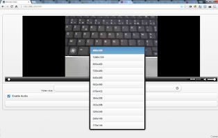 Screenshot of Droid IP Camera