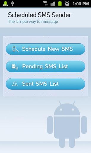 Scheduled SMS Sender