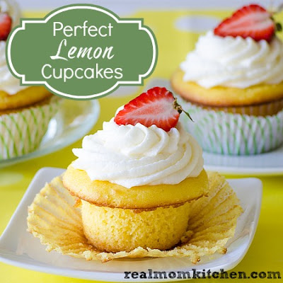 Perfect Lemon Cupcakes with Lemon Buttercream