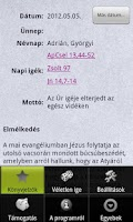 Screenshot of BibOlKAT - Katolikus igenaptár