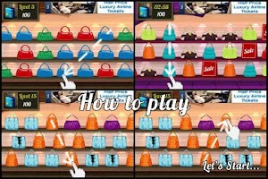 Screenshot of Bag Shop