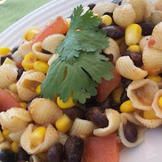 Zesty Southern Pasta and Bean Salad