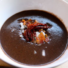 Chipotle Bean Soup with Bacon