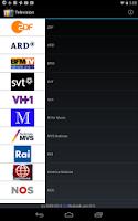 Screenshot of Television