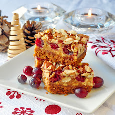Cranberry White Chocolate Magic Bars