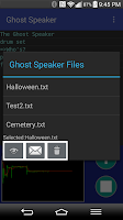 Screenshot of Ghost Speaker