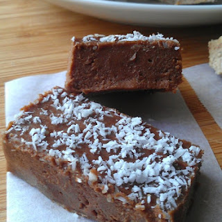 Chocolate Freezer Fudge (nut free)