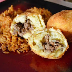 Stuffed Potato Balls ( Papas Rellenas )