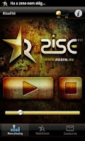 Screenshot of RiseFM
