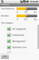 Screenshot of Registered Dietitian Exam Prep