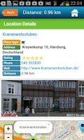 Screenshot of Hamburg Hotels, Map & Guide
