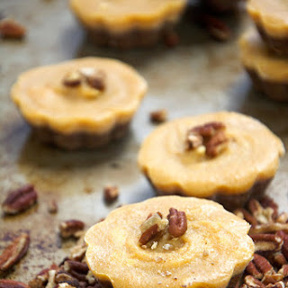 {No Bake} Pecan Pumpkin Pie Bites