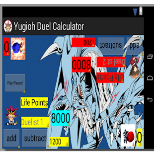 Yugioh Duel Calculator V2 - screenshot