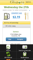 Screenshot of The Coupons App