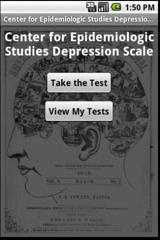CES Depression Scale