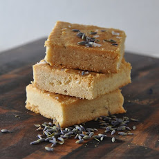 Lavender-Sea Salt Shortbread