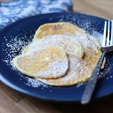 Delicate Cream Cheese Pancakes