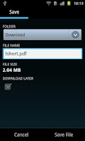 Screenshot of Download Blazer