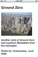 Screenshot of NYC Sights