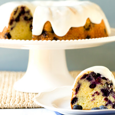 Blueberry-Lemon Buttermilk Bundt Cake