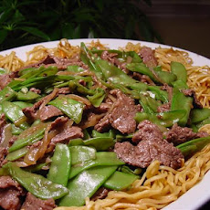 C-Watch Fried Mein With Oyster Sauce Beef