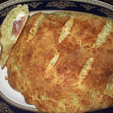 Pepperoni Cheese Bread / Calzone