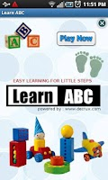 Screenshot of Free Learn Alphabets ABC Kids
