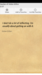 Quotes of Aidan Gillen - screenshot