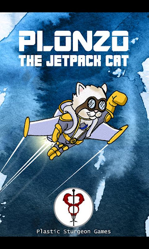 Plonzo: The Jetpack Cat