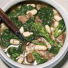 Broccoli Rabe-and-Sausage Soup