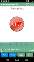 Screenshot of Smart MP3 Recorder