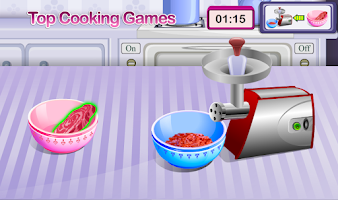 Screenshot of Meatloaf Cake Cooking