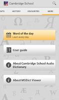 Screenshot of Audio Cambridge School TR