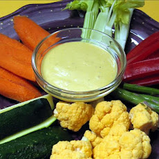Curry-Honey Vegetable Dip