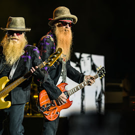 ZZ TOP by Stéphane zOz - People Musicians & Entertainers ( music, concert, bass, zoz, guitar, rock, festival, zz top, singer, blues, portrait, live )