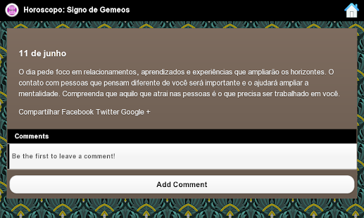 Horoscopo: Signo De Gemeos - screenshot