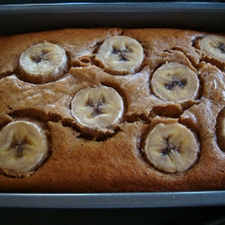 Peanut Butter Banana Bread (Or Banana Cake)