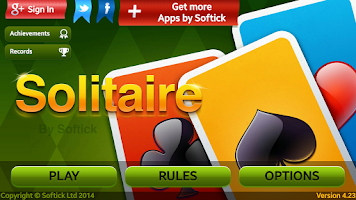 Screenshot of Selective Castle Solitaire