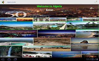 Screenshot of Algeria Guide
