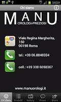 Screenshot of Manu Orologi