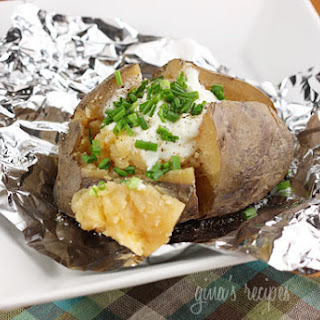 "Crock Pot ""Baked"" Potatoes"