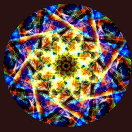 Kaleidascope by Dave Clark - Digital Art Abstract ( symbol, pattern, background, kaleidascope, mandala )