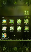 Screenshot of Firefly GO Launcher Theme