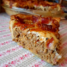 *Bacon Cheeseburger Pie*