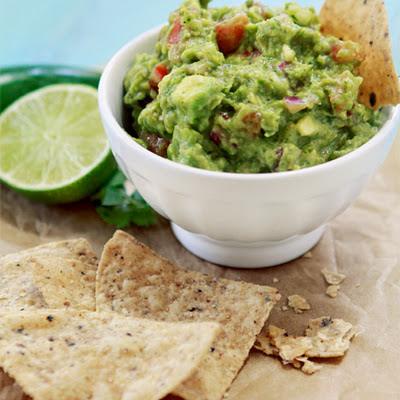Roasted Salsa Verde and Roasted Tomatillo Guacamole