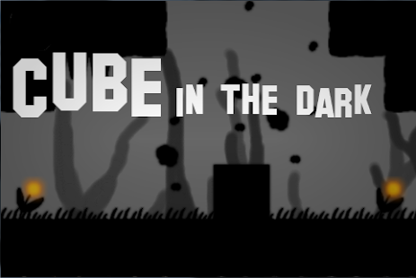 Cube in the dark - screenshot